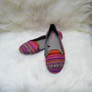 Multicolored Flats